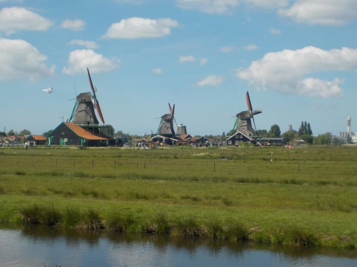 Such a lovely atmosphere in the Dutch countryside