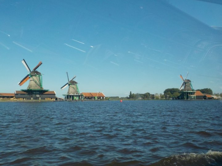 Cruising the Zaan River was a calm and relaxing experience