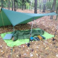 I Made My Own Backpacking Tarp, Part 1
