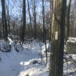 A snowy winter backpacking trip on the Appalachian Trail in Pennsylvania.