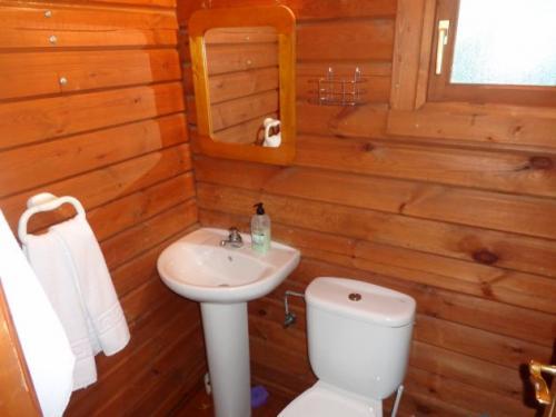 Cabaña 12 baño