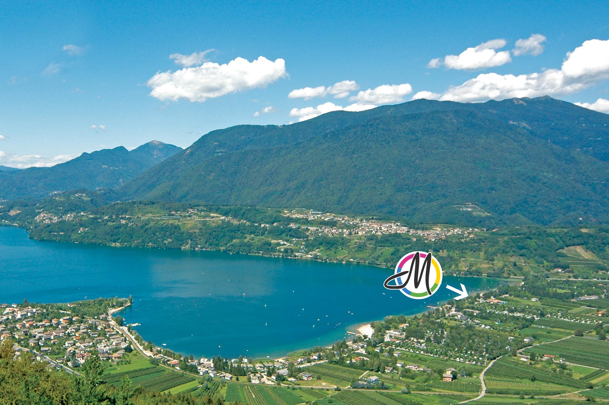 Lago di Caldonazzo il lago alpino tra i pi caldi e pi grandi del Trentino