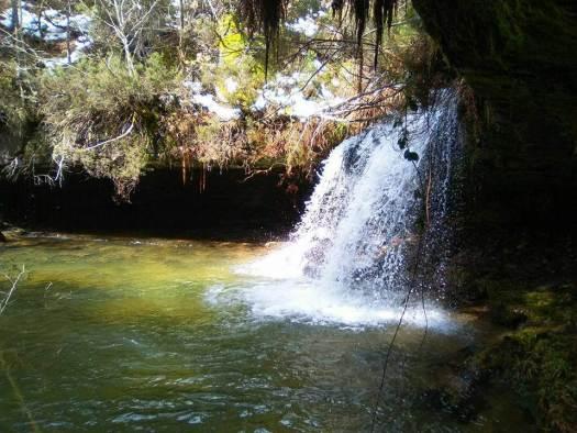 cascadas en soria
