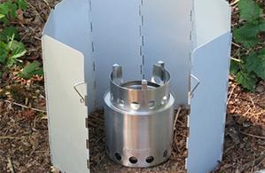 Solo Aluminum Windscreen