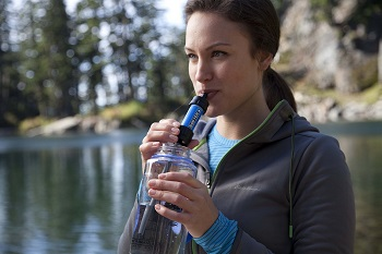 Sawyer Mini Water Filtration System Drinking