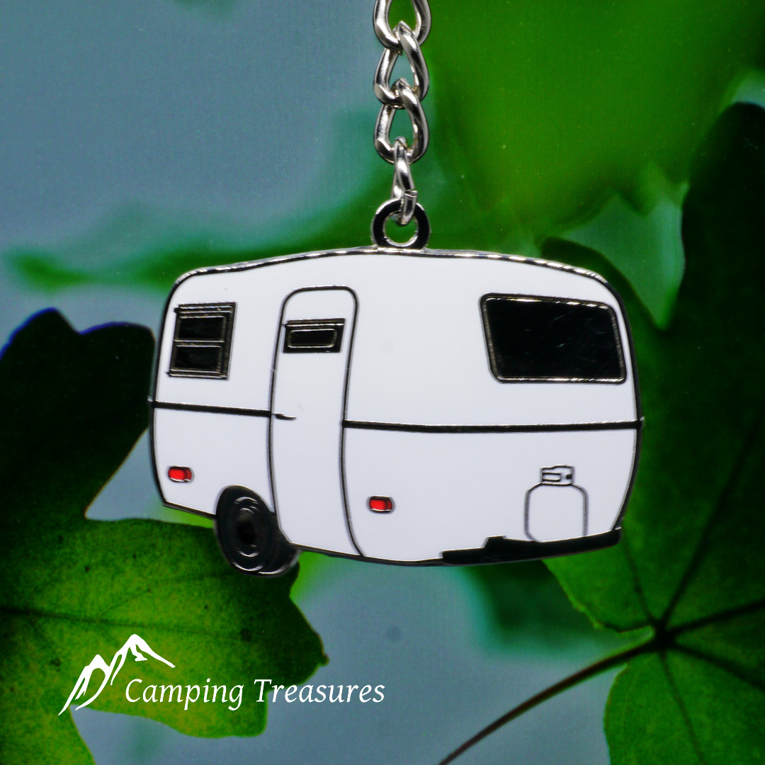 Key Chain – Boler/Scamp – White