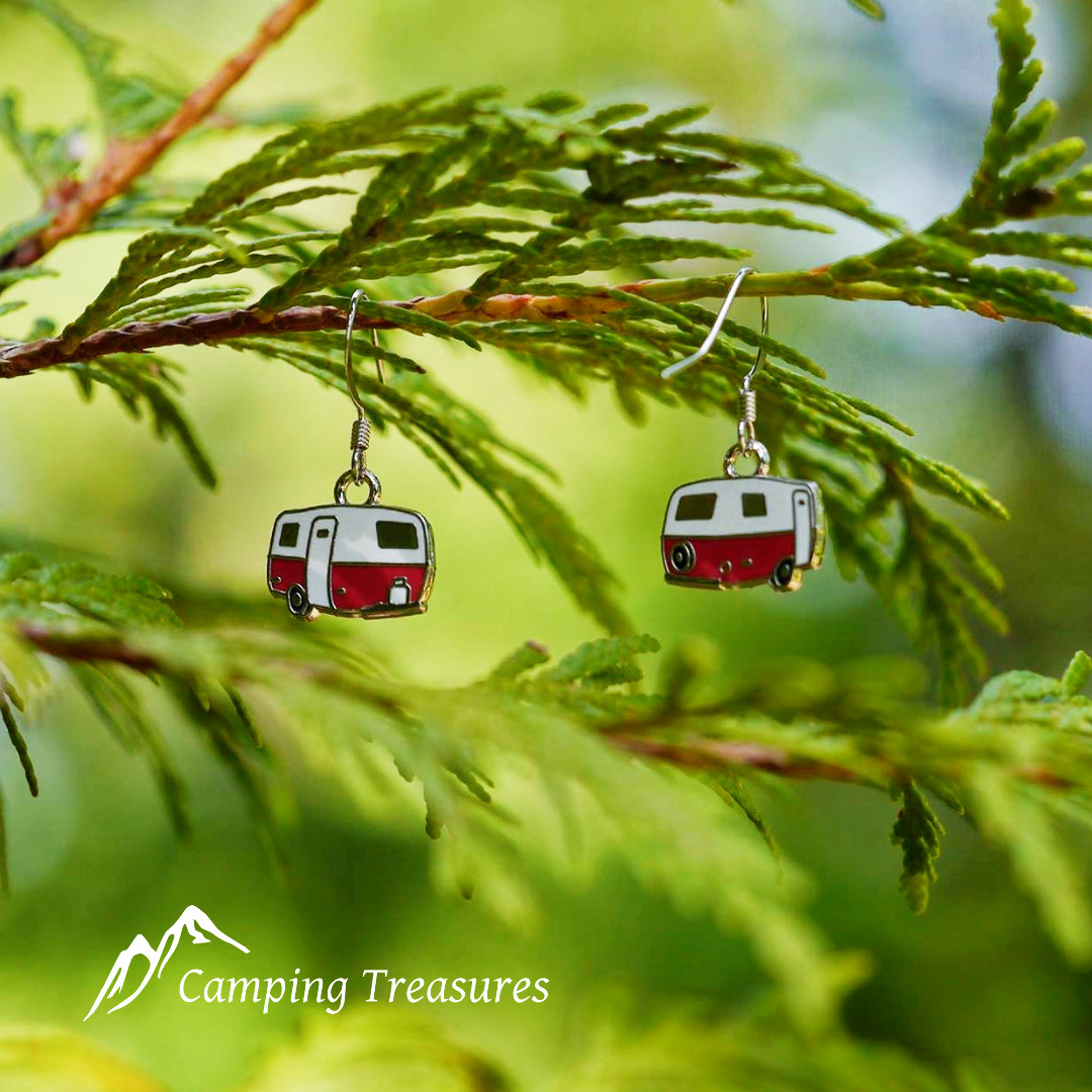 Earrings – Boler/Scamp – Red