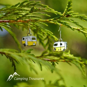 Earrings – Boler/Scamp – Yellow