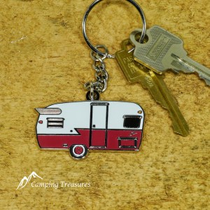 Key Chain – Shasta – Matador Red