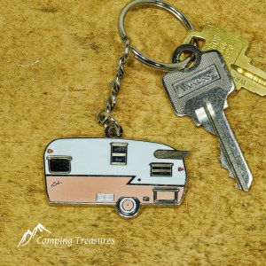 Key Chain – Shasta – Coral Pink