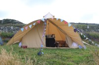 Camping In The Stunning New Star Canopy Bell Tent from ...