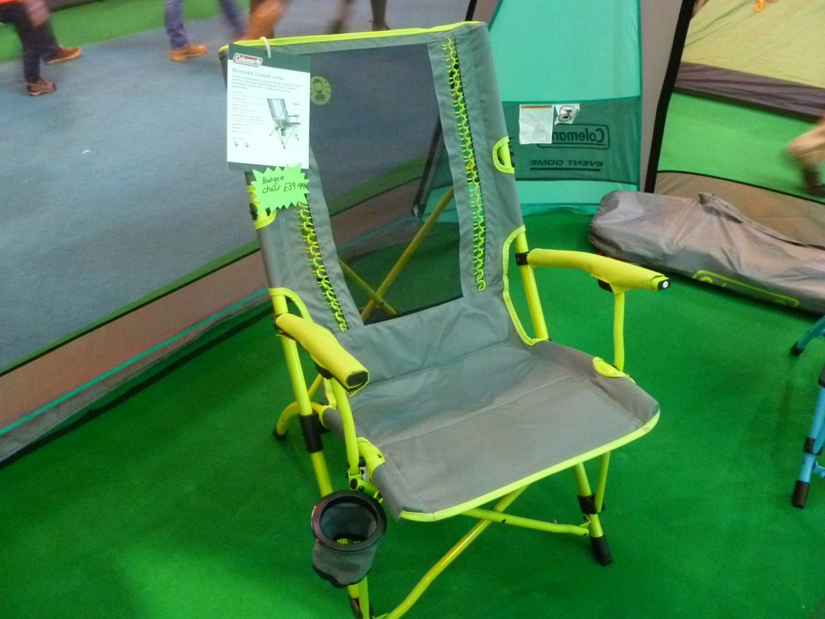 coleman chair accessories stand test pictures caravan camping and motorhome show 2016 highlights