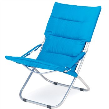 padded folding chairs uk leopard print office chair cover gelert newton lounger campingworld co