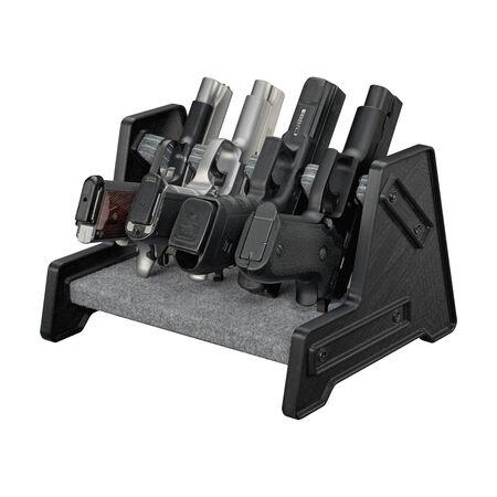 stack on deluxe 4 position pistol rack