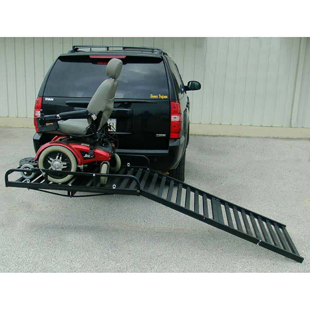 small resolution of mighty lite folding scooter carrier