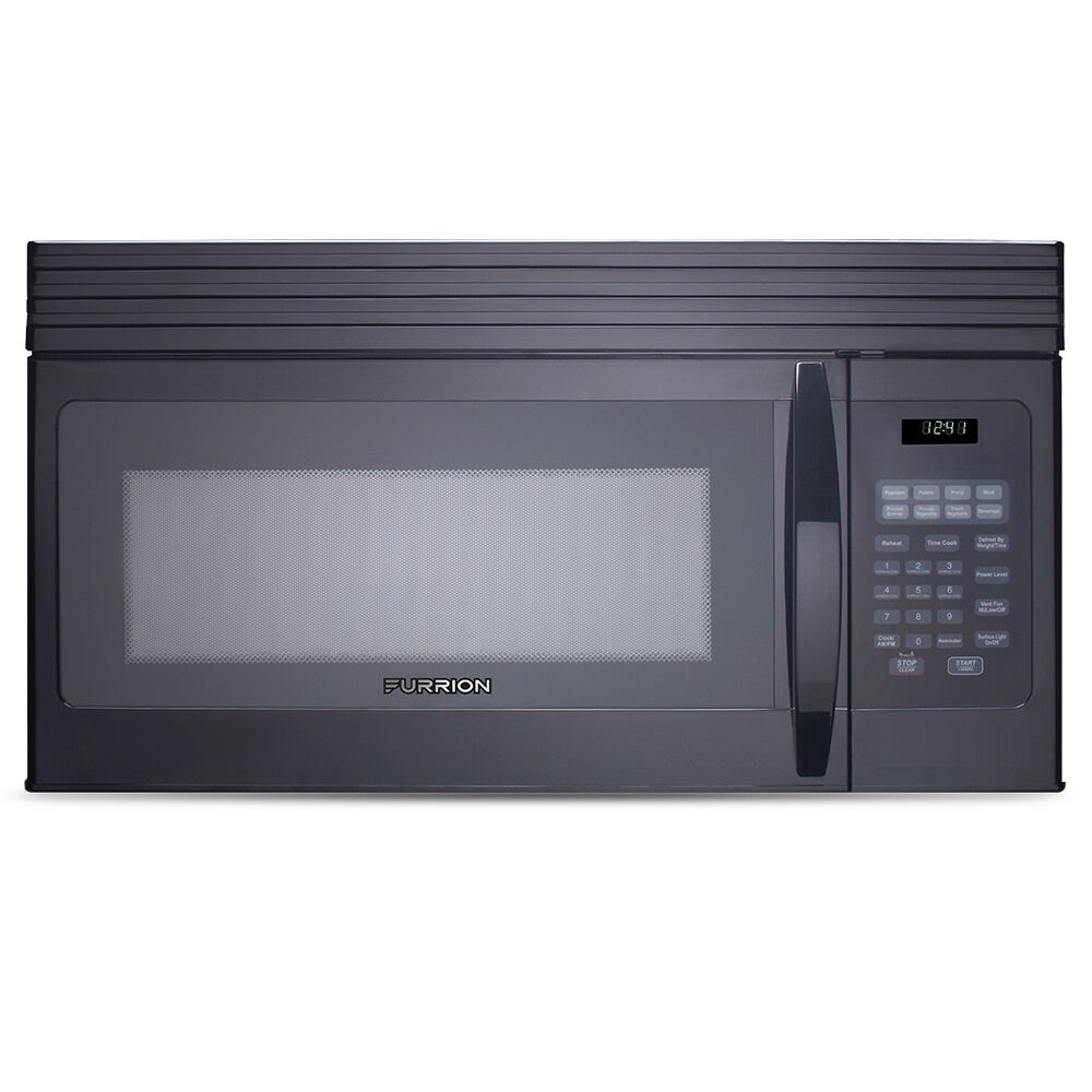 furrion 1 5 cu ft over the range convection microwave oven black