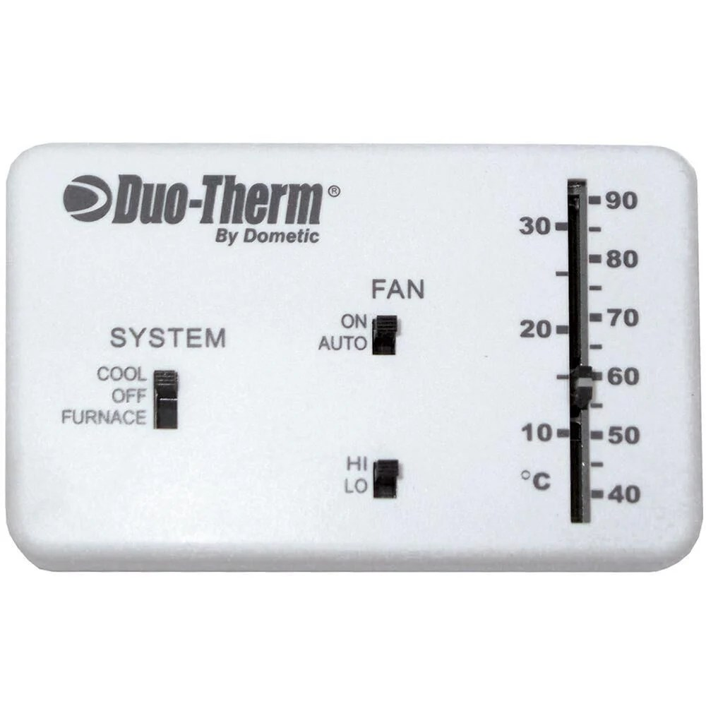 dometic analog thermostat cool furnace fan camping worlddometic analog thermostat wiring diagram 14 [ 1000 x 1000 Pixel ]
