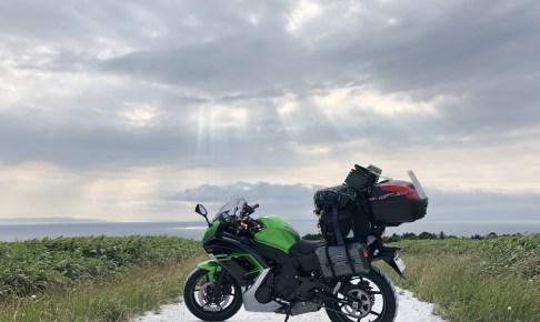北海道_天使のはしご_薄明光線