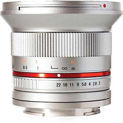 Samyang 12mm f2.0 NCS CS Lens - Sony E Fit - Silver