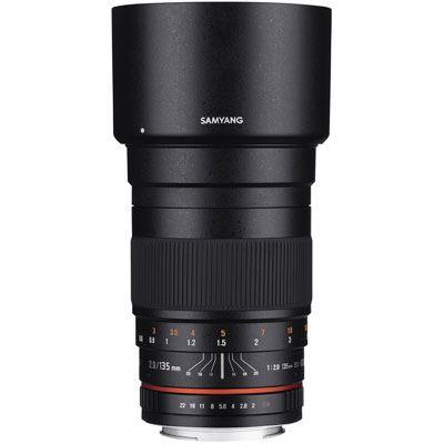 Samyang 135mm f2 ED UMC Lens - Canon Fit