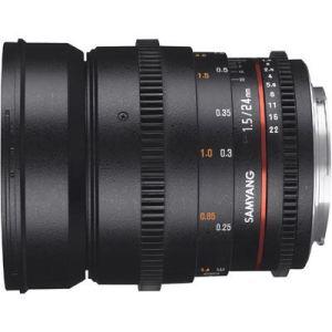Samyang 24mm T1.5 ED AS IF UMC II VDSLR Lens