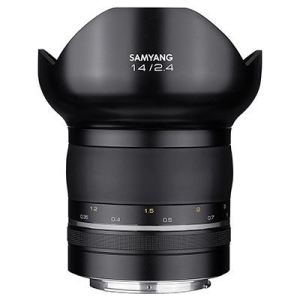 Samyang 14mm f2.4 AE XP Lens - Canon Fit