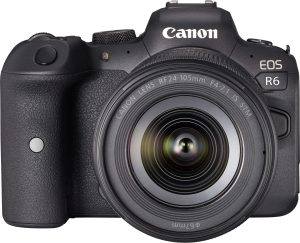 Canon R6 + 24-105 Lens front view