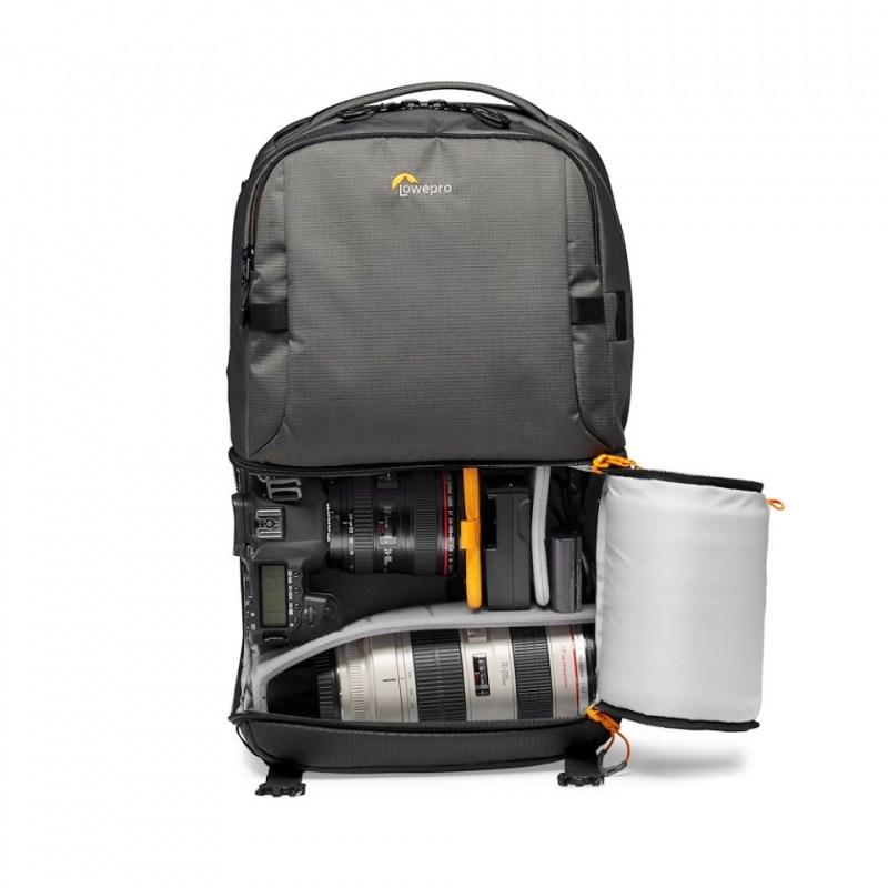 camera backpack lowepro fastpack bp 250 aw iii lp37332 pww dslr stuffed rgb