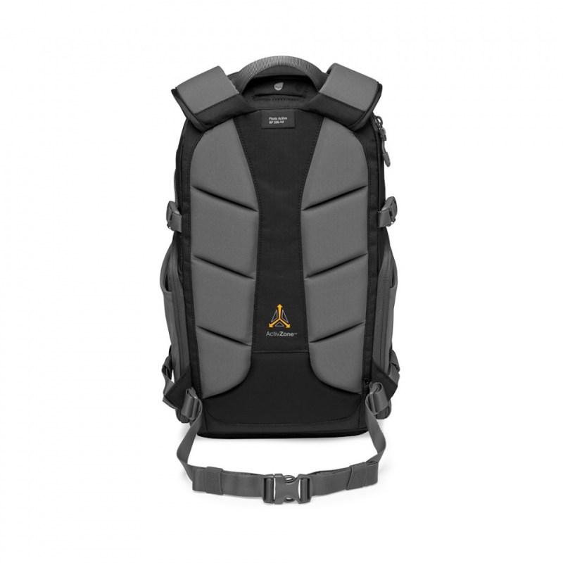 camera backpack lowepro photo active bp 200 lp37260 pww backside b