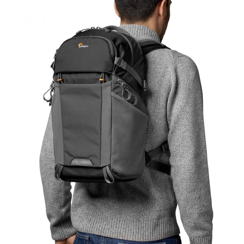 camera backpack lowepro photo active bp 200 lp37260 pww onbody