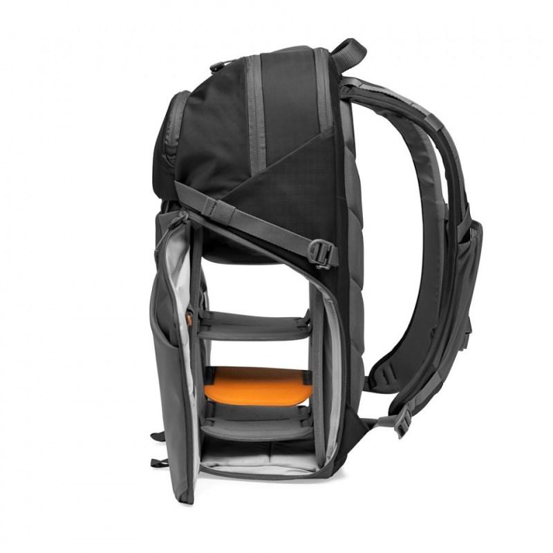 camera backpack lowepro photo active bp 300 lp37255 pww quickshelf open