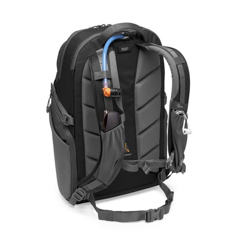 camera backpack lowepro photo active bp 300 lp37255 pww strap pockets reservoir stuffed 1