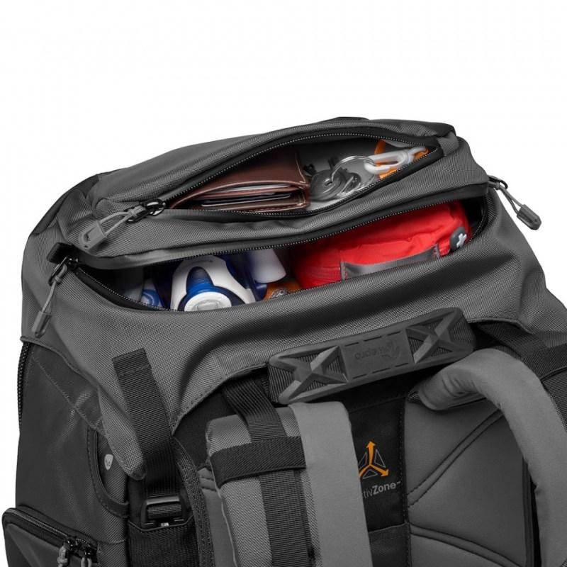 camera backpack lowepro pro trekker bp 550 aw ii lp37270 pww top pocket
