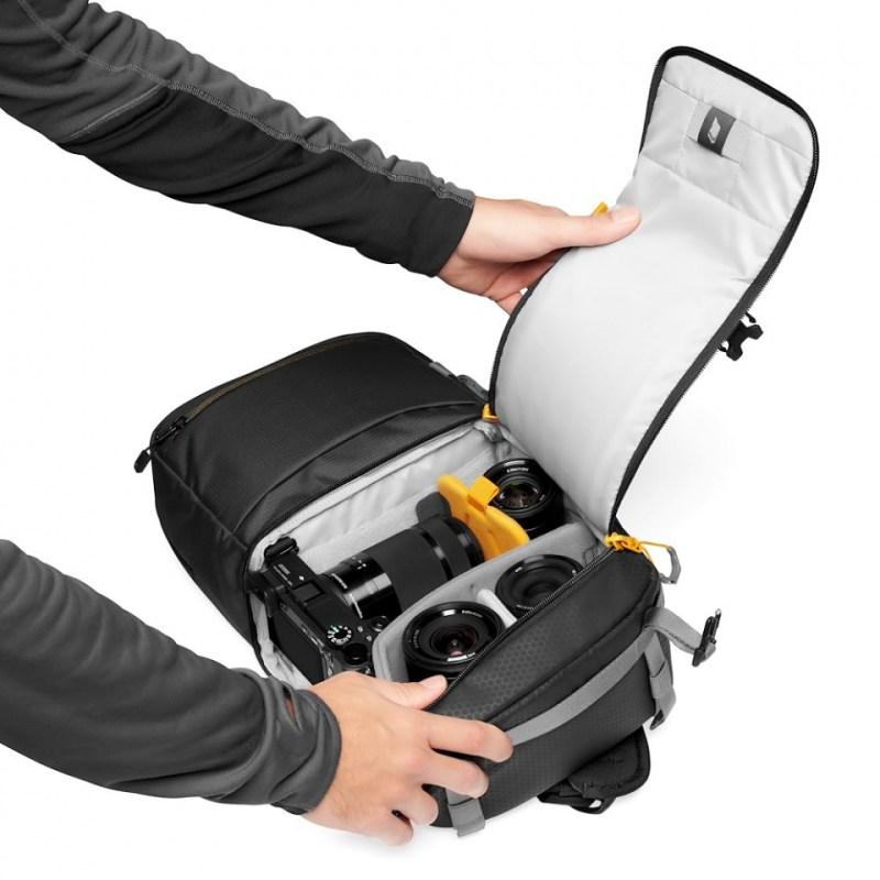 camera backpack lowepro slingshot sl 250 aw ii lp37335 pww quickdoor stage2 rgb