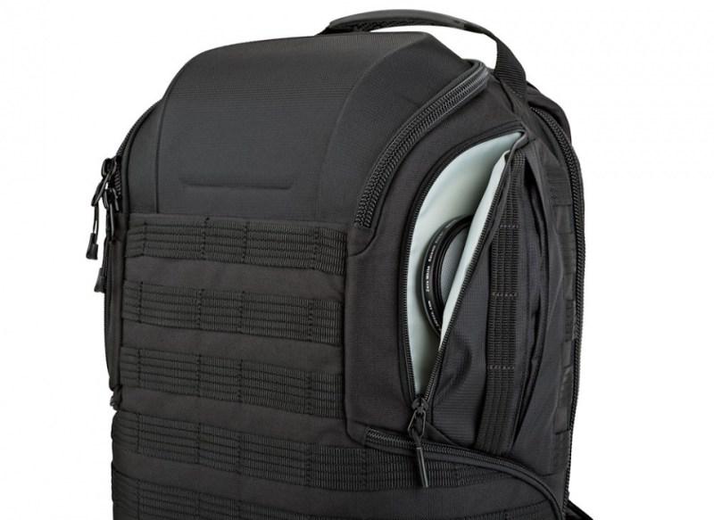 camera backpack protactic bp 350 ii aw lp37176 sidepocket rgb