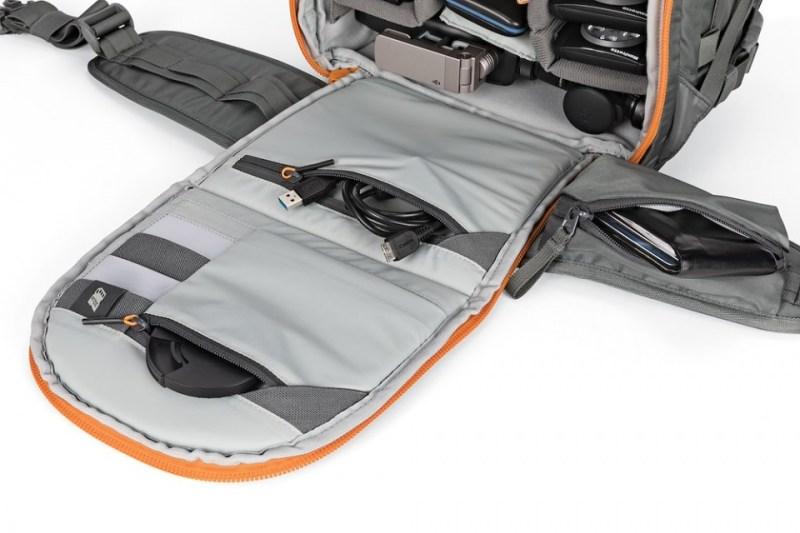 camera backpack whistler bp 350 aw ii lp37226 inside panel