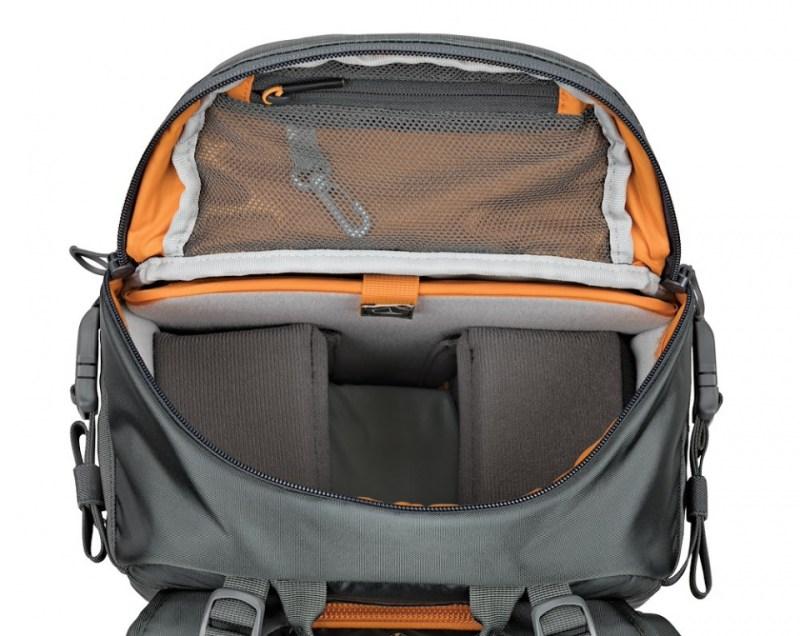 camera backpack whistler bp 350 aw ii lp37226 top pocket alt1