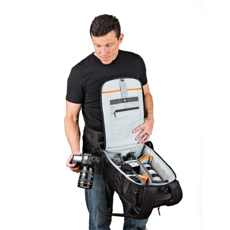 camera backpacks flipside 400 awii on body sq lp37129 config