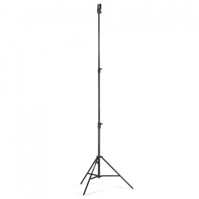 lighting stand manfrotto blk air cushioned alu senior 007buac 1