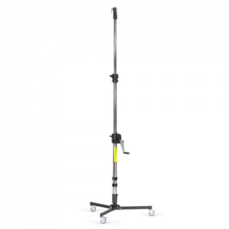 manfrotto low base 3 section wind up stand 087nwlb 1