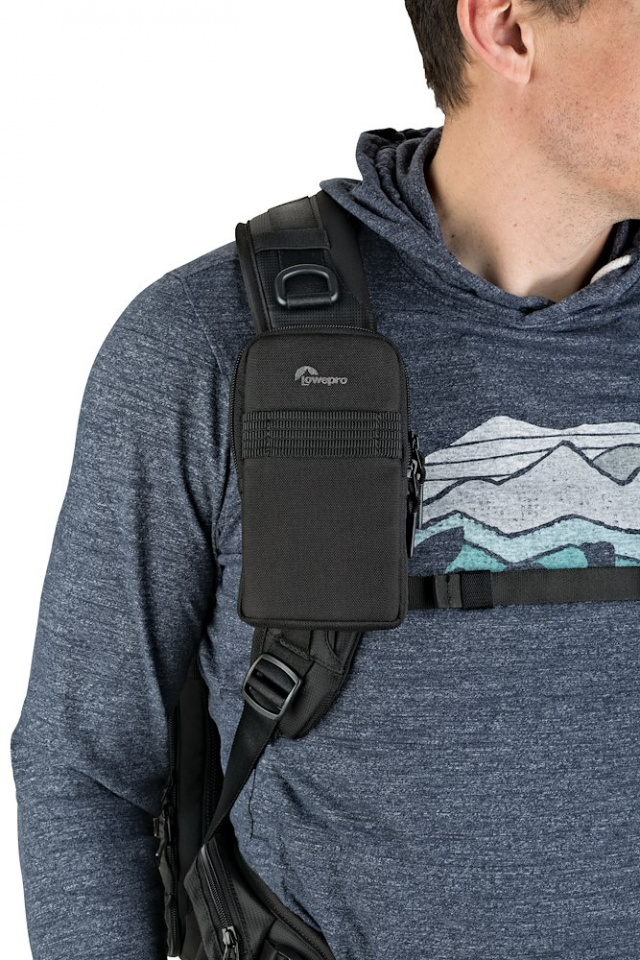 phone pouch protactic phone pouch lp37225 on backpack strap rgb