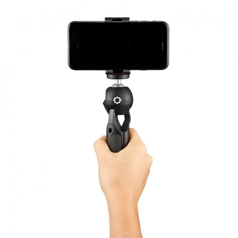 phone tripod joby handypod mobile jb01560 bww with hand shooting forward