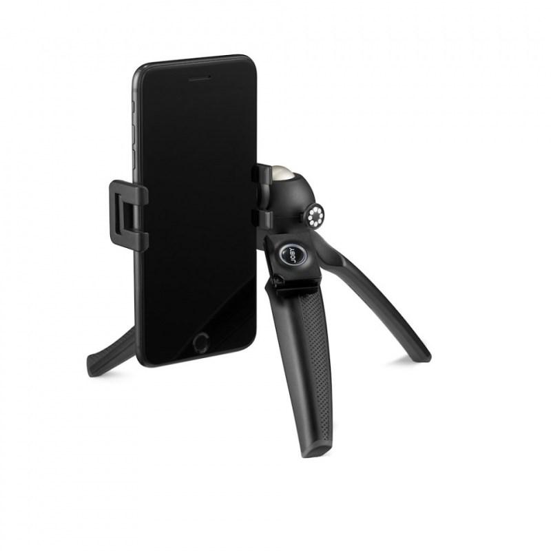 phone tripod joby handypod mobile jb01564 bww open with phone portait mode