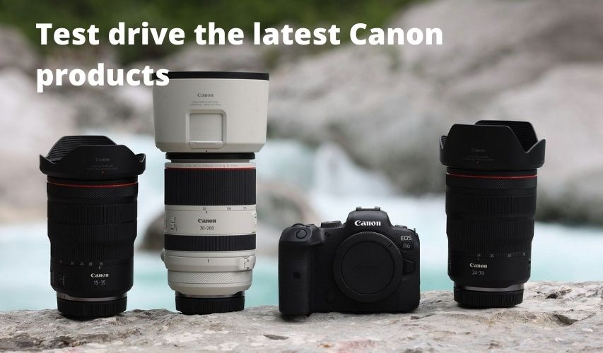 TRY THE LATEST CAMERAS LENSES 3