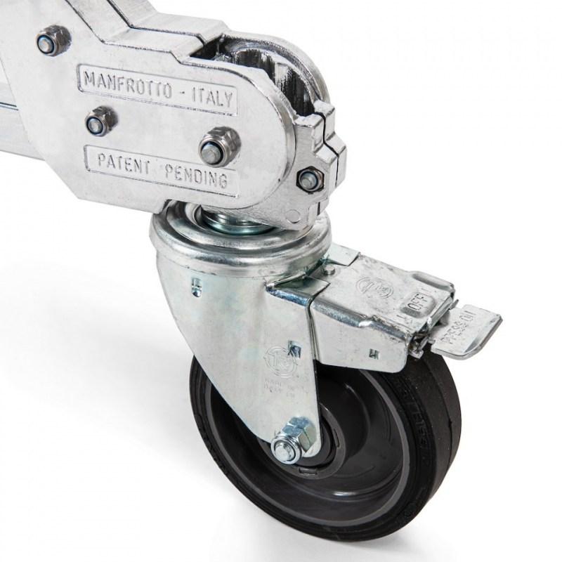 avenger strato safe stand 4 riser with braked wheels universal 03