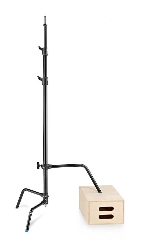c stands c stand 33 with sliding leg in black finish version a2033lcb gambalivellante