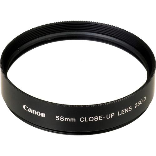 Canon 2820A001 58mm 250D Close up Lens 1404481824 87491