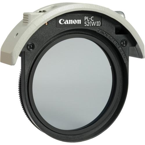 Canon 4774B001 52mm Drop in Circular Polarizing 1317892439 763727