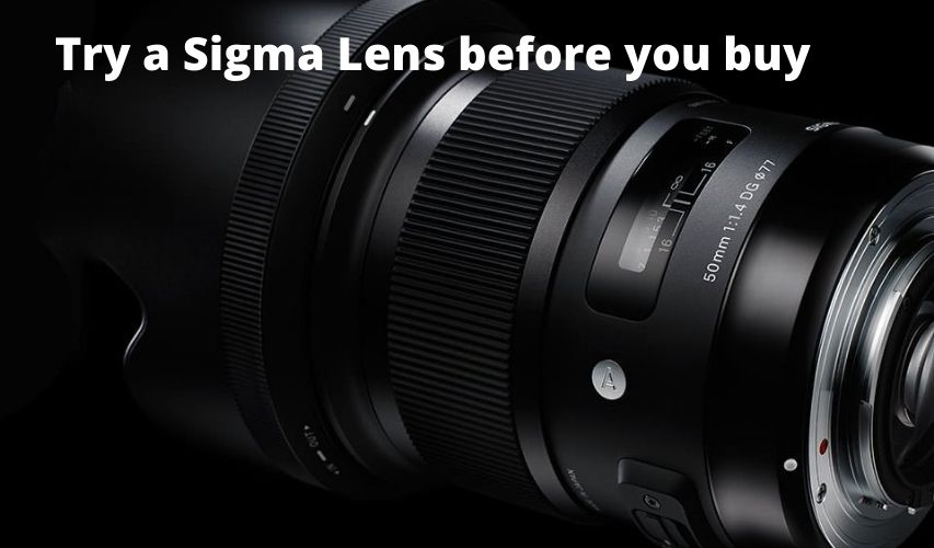 TRY THE LATEST CAMERAS LENSES 5