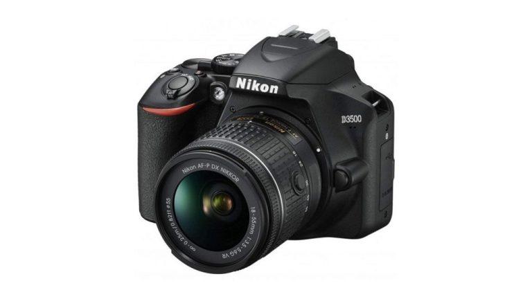 Nikon D3500 Digital SLR Camera with 18-55mm AF-P VR Lens the best cameras for photography